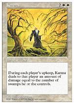 Karma, carta de Magic