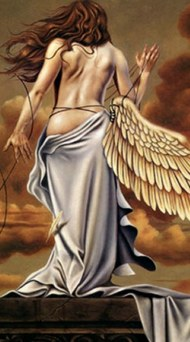 Un angel...