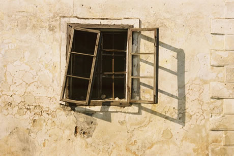 stucco-wall-and-window