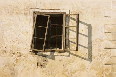stucco-wall-and-window