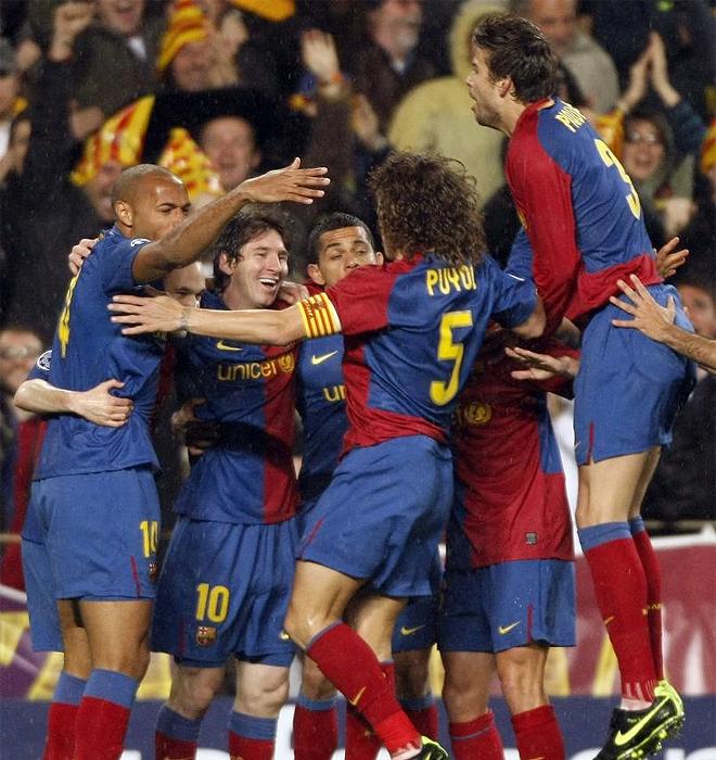 Barça - Bayern en cuartos de la Champions