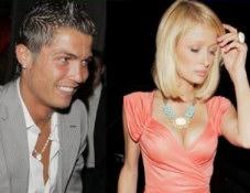 Cristiano Ronaldo & Paris Hilton