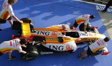 La pole de Fernando Alonso
