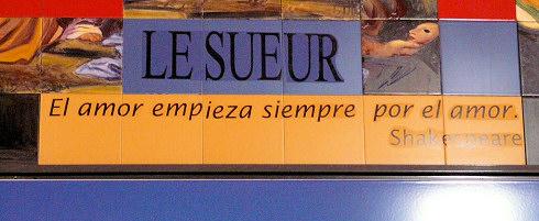 Estación de Metro de La Elipa (Madrid)