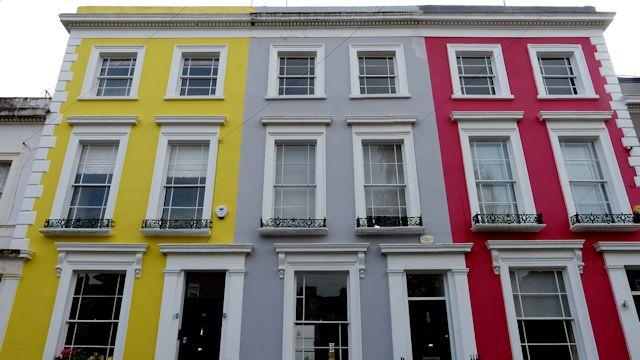 Casas colores Portobello