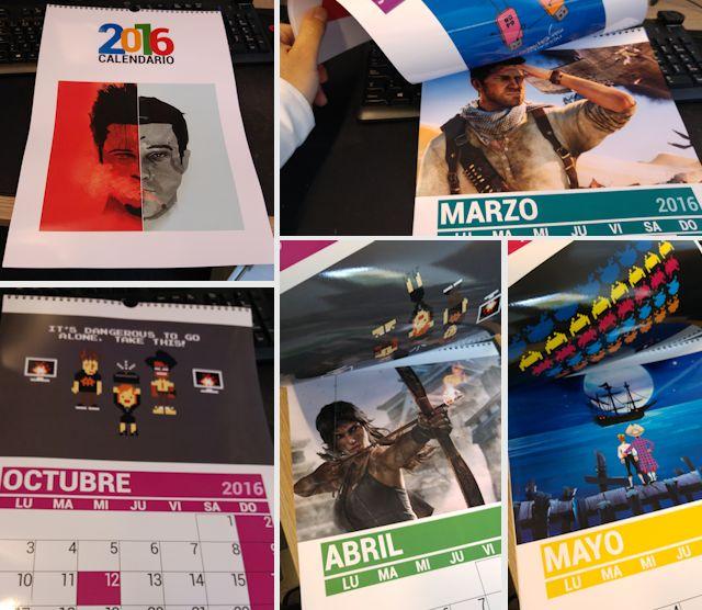 Calendario Friki