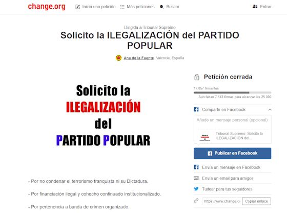 Ilegalización del PP